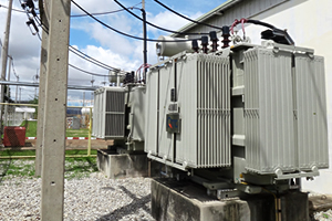 海外の変電設備点検